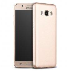 Samsung galaxy J7 2016 dėklas X-LEVEL GUARDIAN silikonas auksinis