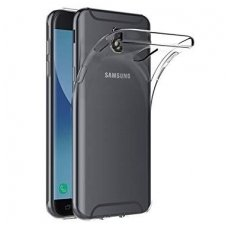 samsung galaxy j7 2017 dėklas high clear 1,0mm silikonas skaidrus