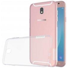 Samsung galaxy J7 2017 dėklas Nillkin Nature permatomas 0,6 mm TPU