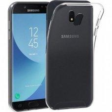 Akcija! Samsung Galaxy J7 2017  X-level antislip permatomas skaidrus dėklas 0.78 mm silikonas