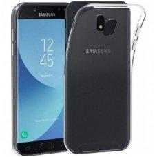 Samsung galaxy J7 2017 dėklas Silikoninis Ultra Slim 0,3mm skaidrus