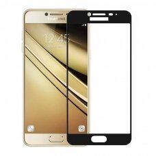 Akcija! Samsung galaxy J7 2017 grūdinto stiklo ekrano apsauga Wozinsky lenkta juodais kraštais