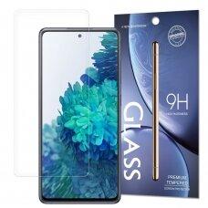 akcija! Samsung Galaxy a52 / a52 5g ekrano apsauginis stikliukas iki išlenkimo 9H Skaidrus