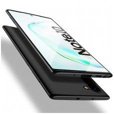 Samsung galaxy Note 10 dėklas X - LEVEL GUARDIAN silikonas juodas