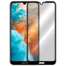 huawei y6 2019 ekrano Apsauginis grūdintas stikliukas 5D CF Full Glue juodais kraštais