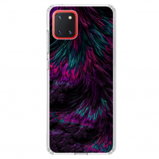 "Samsung Galaxy Note 10 Lite TPU dėklas unikaliu dizainu 1.0 mm ""u-case Airskin Feather design"""