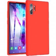 Samsung galaxy note 10 plus dėklas MERCURY JELLY SOFT silikoninis raudonas