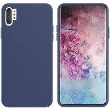Samsung galaxy Note 10 plus dėklas MERCURY SILICONE mėlynas
