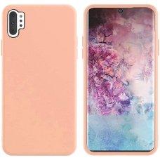 Samsung galaxy Note 10 plus dėklas MERCURY SILICONE rožinis