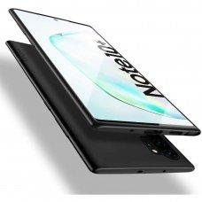 Samsung galaxy note 10 plus dėklas X-LEVEL GUARDIAN silikonas juodas