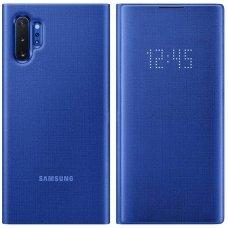 """Samsung Galaxy Note 10 PLUS originalus išmanus atverčiamas dėklas """"LED View Cover"""" mėlynas"""