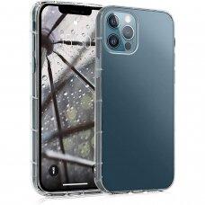 iphone 12 pro max DĖKLAS MERCURY JELLY CLEAR PERMATOMAS 0,6MM