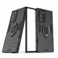 Samsung galaxy Note 20 dėklas Panther PC+TPU juodas