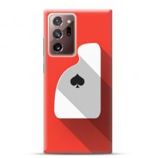"""Samsung Galaxy Note 20 ultra TPU dėklas unikaliu dizainu 1.0 mm """"u-case Airskin Ace design"""""""