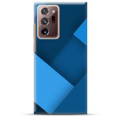 """Samsung Galaxy Note 20 ultra TPU dėklas unikaliu dizainu 1.0 mm """"u-case Airskin Blue design"""""""