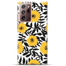 """Samsung Galaxy Note 20 Ultra TPU dėklas unikaliu dizainu 1.0 mm """"u-case Airskin Flowers 2 design"""""""