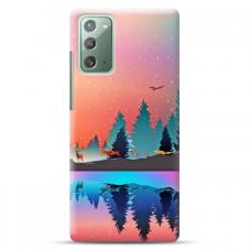 """Samsung Galaxy Note 20 TPU dėklas unikaliu dizainu 1.0 mm """"u-case Airskin Nature 5 design"""""""