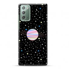 """Samsung Galaxy Note 20 TPU dėklas unikaliu dizainu 1.0 mm """"u-case Airskin Planet design"""""""