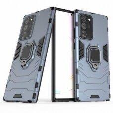 Samsung galaxy Note 20 dėklas Panther PC+TPU mėlynas