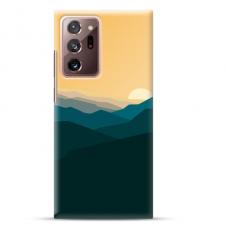 """Samsung Galaxy Note 20 ultra TPU dėklas unikaliu dizainu 1.0 mm """"u-case Airskin Mountains 2 design"""""""