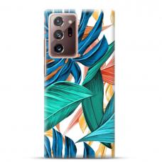 """Samsung Galaxy Note 20 ultra TPU dėklas unikaliu dizainu 1.0 mm """"u-case Airskin Leaves 1 design"""""""