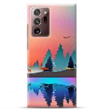 """Samsung Galaxy Note 20 ultra TPU dėklas unikaliu dizainu 1.0 mm """"u-case Airskin Nature 5 design"""""""