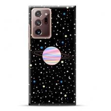 """Samsung Galaxy Note 20 ultra TPU dėklas unikaliu dizainu 1.0 mm """"u-case Airskin Planet design"""""""