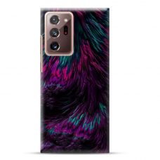 """Samsung Galaxy Note 20 ultra TPU dėklas unikaliu dizainu 1.0 mm """"u-case Airskin Feather design"""""""