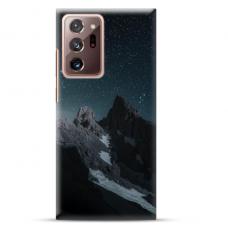 """Samsung Galaxy Note 20 ultra TPU dėklas unikaliu dizainu 1.0 mm """"u-case Airskin Mountains 1 design"""""""