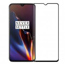 oneplus 7 ekrano Apsauginis grūdintas stikliukas 5D CF Full Glue juodais kraštais
