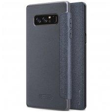Samsung galaxy  NOTE 8 Atverčiamas dėklas Nillkin Sparkle PC plastikas ir PU oda  juodas
