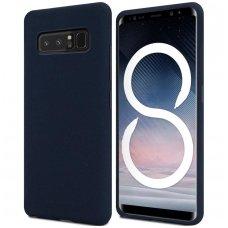 Samsung galaxy Note 8  dėklas MERCURY JELLY SOFT silikoninis mėlynas