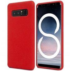 Samsung galaxy Note 8  dėklas MERCURY JELLY SOFT silikoninis raudonas
