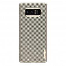 Akcija! Samsung Galaxy Note 8 dėklas Nillkin Air PC plastikas auksinio atspalvio
