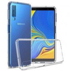 Samsung galaxy a7 2018 DĖKLAS HIGH CLEAR 1,0MM SILIKONAS SKAIDRUS