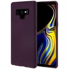 """Samsung galaxy note 9 dėklas Mercury Goospery """"Style Lux"""" TPU violetinis"""