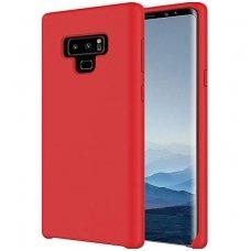 Samsung galaxy note 9 dėklas silicone cover silikonas raudonas