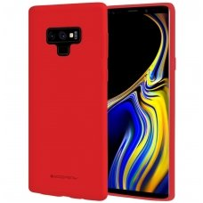 Samsung Galaxy Note 9 MERCURY Soft JELLY CASE Silikoninis raudonas
