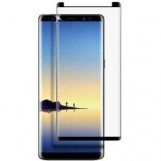 Akcija! Samsung Galaxy note 9  APSAUGINIS STIKLIUKAS PRO FULL H PRO 5D H9, LENKTAS APSAUGINIS STIKLAS TEMPERED GLASS JUODAS