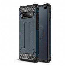 Samsung galaxy s10 dėklas Hybrid Armor  TPU+PC plastikas mėlynas