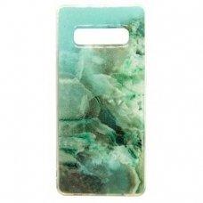 Samsung galaxy s10 dėklas Vennus Stone TPU plastikas žalias