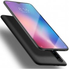 xiaomi redmi 9a DĖKLAS X-LEVEL GUARDIAN SILIKONINIS 0,6MM JUODAS