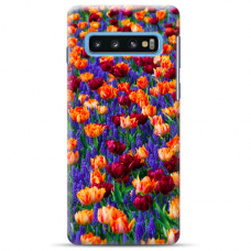 "Samsung Galaxy S10 Plus TPU dėklas unikaliu dizainu 1.0 mm ""u-case Airskin Nature 2 design"""