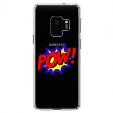 "Samsung Galaxy a6 plus 2018 TPU DĖKLAS UNIKALIU DIZAINU 1.0 MM 1.0 mm ""u-case airskin POW design"""