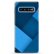 """Samsung Galaxy S10 TPU dėklas unikaliu dizainu 1.0 mm """"u-case Airskin Blue design"""""""