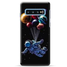 "Samsung Galaxy S10 TPU dėklas unikaliu dizainu 1.0 mm ""u-case Airskin Cosmo design"""