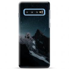 "Samsung Galaxy S10e TPU dėklas unikaliu dizainu 1.0 mm ""u-case Airskin Mountains 1 design"""