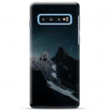 "Samsung Galaxy S10 TPU dėklas unikaliu dizainu 1.0 mm ""u-case Airskin Mountains 1 design"""