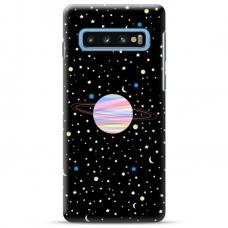 """Samsung Galaxy S10e TPU dėklas unikaliu dizainu 1.0 mm """"u-case Airskin Planet design"""""""