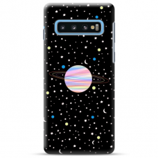 "Samsung Galaxy S10 TPU dėklas unikaliu dizainu 1.0 mm ""u-case Airskin Planet design"""
